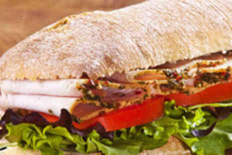 Rococo Coffee House - Panini plus any hot or soft drink for 2 people - Save 56%