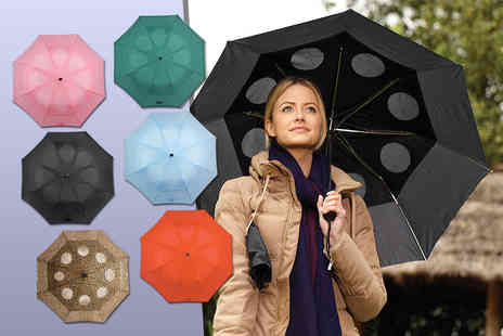 Easylife - StayDry windproof umbrella choose from six colours - Save 47%
