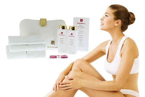 Body Reform - Super contour treatment pack including thermal wraps and herbal gel - Save 81%