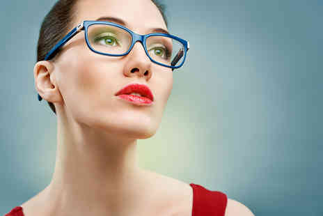 Rose Opticians - Eye test include lenses and £100 voucher to use towards frames - Save 64%