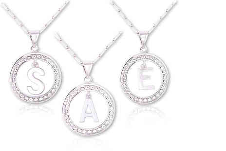 Trending Picks - Alphabet pendant necklace choose from A to Z - Save 84%