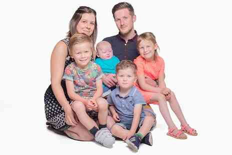 Ramsgate Art Company Photographers - Family Portrait Photoshoot - Save 0%