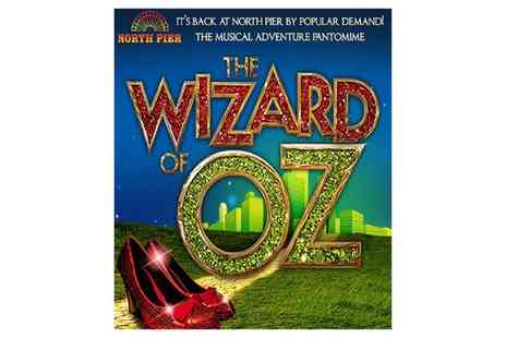 Trio Entertainment - The Wizard of Oz Pantomime, Standard Seating Tickets on 27 July to  24 August - Save 52%