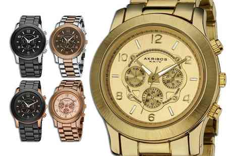 Buy Bay - Ladies Akribos XXIV watch choose from five designs - Save 82%