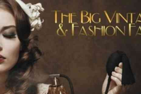 The Bluecoat - One Tickets to The UKs Big Vintage and Fashion Fair - Save 50%
