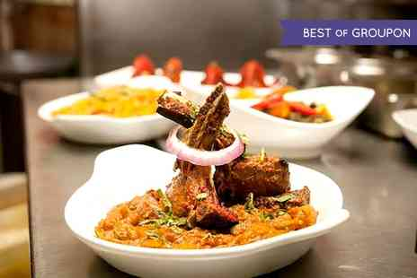 The Delhi Restaurant Solihull - Two Course Indian Meal For Two or Four - Save 44%