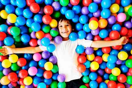 Jellybeans Playcentre - Soft Play Entry with Drinks for Two or Four Children - Save 41%