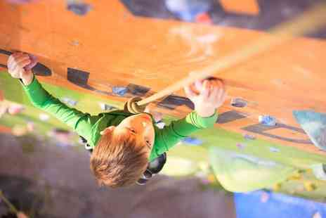 The Foundry Climbing Centre - One or Three Kids Indoor Climbing Sessions for One or Two - Save 50%