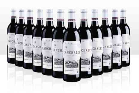 Karpe Deal - 12 Bottles of Rioja Wine With Free Delivery - Save 45%