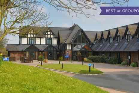 Best Western The Gables Hotel - One or Two Nights Stay For 2 or 4 With Breakfast and Slimbridge Wetland Tickets - Save 0%
