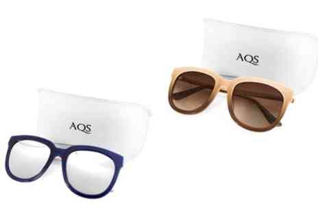 AQS Brand Inc - AQS Womens Piper Sunglasses in Choice of Colour With Free Delivery - Save 90%