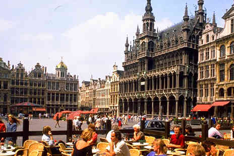 AA Getaways - £149pp for 3 nights in central Brussels with breakfast and return Eurostar - Save 48%