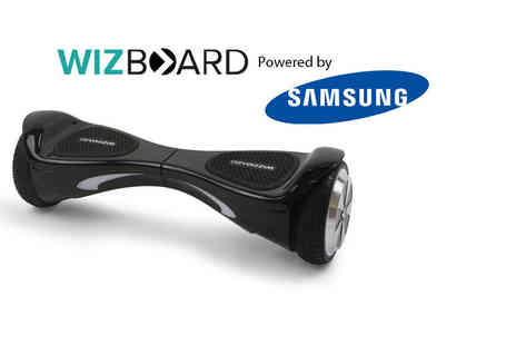 Davis and Dann - Official WizBoard hoverboard powered by Samsung choose from four colours - Save 57%