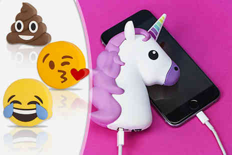 EF Mall - Emoji power bank choose from seven designs - Save 78%