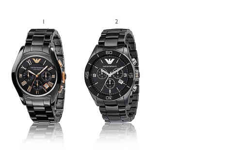 The Watch Supermarket - Armani watch choose from five styles - Save 70%
