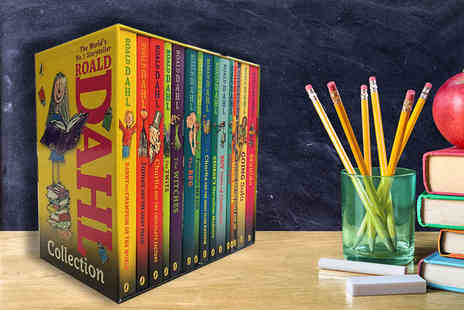 Price Cut Books - Complete Roald Dahl collection - Save 74%