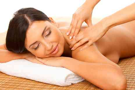 Therapy Hair & Spa - 30 Minute Back, Neck and Shoulder Massage or Aveda Facial or Both - Save 57%