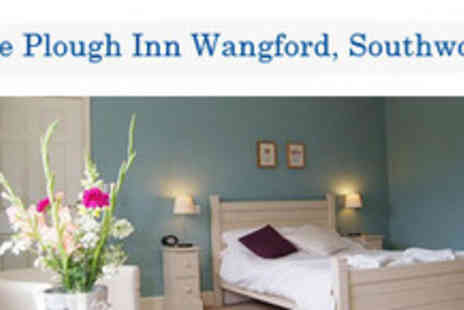The Plough Inn - Overnight Stay For Two With Full English Breakfast And Bottle - Save 50%