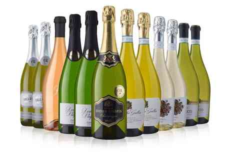 Laithwaites Wine Merchants - 12 Bottles of Sparkling Wine Including Prosecco and Champagne With Free Delivery - Save 0%