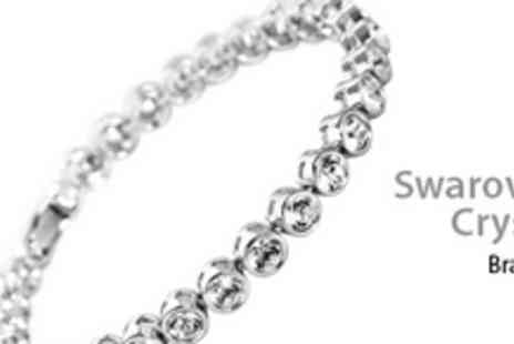 Gifts 4 U - Swarovski Elements Crystal Bracelet - Save 77%