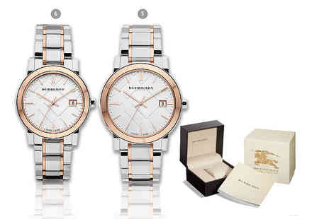 Gray Kingdom - Ladies Burberry watch or mens watch or his and hers set - Save 0%