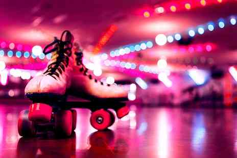 The Wigwam Roller Rink - Disco Roller Skating for Up to Four - Save 27%