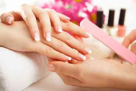 Claudias Salon - Shellac Manicure or Pedicure or Both - Save 44%