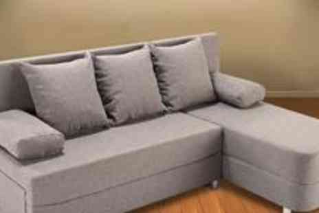 World of Sofa Beds - Porto Fabric Sofa Corner Unit - Save 64%