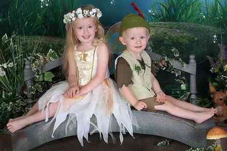 Picture perfect by Mario - Fairy and Elves Photoshoot with a Print for Two Children - Save 0%