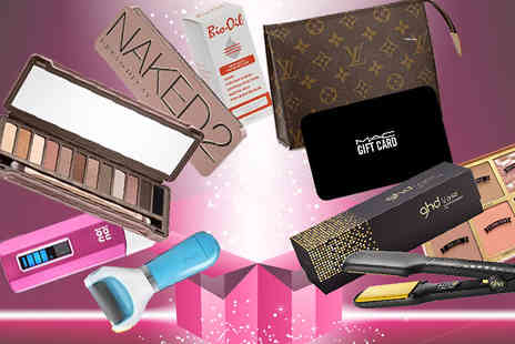 The Beauty Retreat - Luxury Mystery Bag of Beauty Louis Vuitton, MAC, GHD, Urban Decay and More - Save 0%