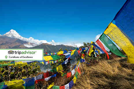 Himalayan Social Journey - 11 day Langtang Valley trek including accommodation, tour, transfers and more - Save 56%