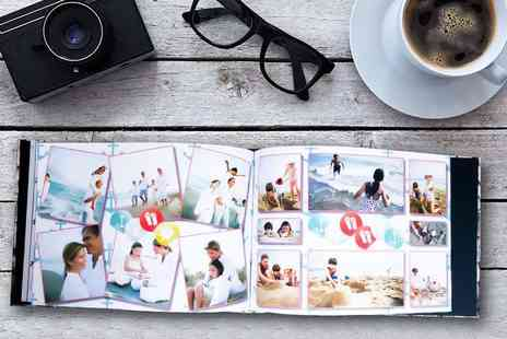 Unibind Photo Books - 24 or 48 page A4 hardcover landscape photobook - Save 67%