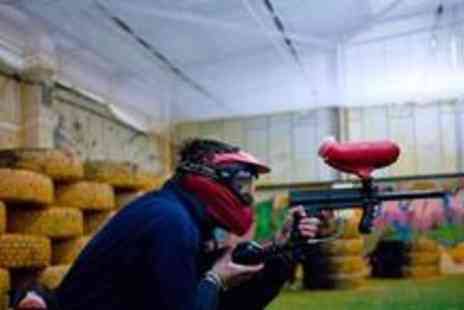 Urban Paintball - Two hours of indoor paintballing for up to four people - Save 87%