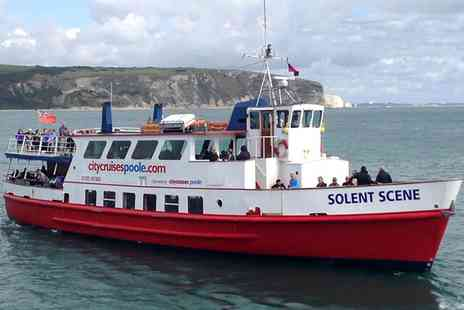 City Cruises PLC - Child or Adult Ticket to Poole Harbour and Islands Cruise - Save 49%