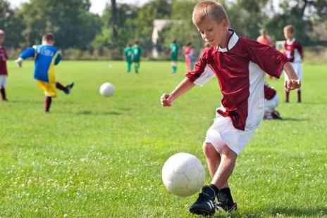 All Star Soccer Coaching - Four Day Football or Dance Camp with All Star Soccer Coaching - Save 51%