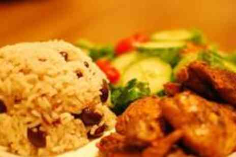 Alter Ega - Two course Caribbean meal for two with four drinks - Save 62%