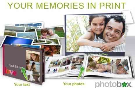 Photobox - A4 Personalised Photobook for £9.50 - Save 70%