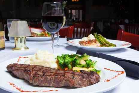 Ciao Italia - Three Course Steak Meal for Two - Save 37%