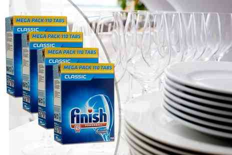 Smart Distribution - 110 Finish Powerball dishwasher tablets - Save 67%