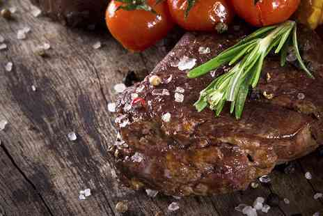 The Aston - Two Course Steak Meal for Two or Four - Save 54%