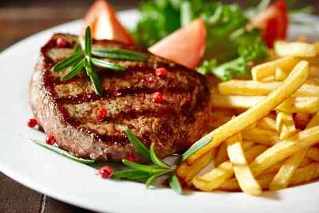 Larder Restaurant - Steak Meal with Wine for Up to Four - Save 0%