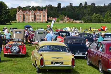 Gemini Events - Classic Motor Show Entry for Two Adults or a Family of Four, Breamore House From 14 August - Save 38%