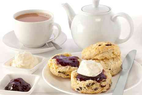 Java Square Coffee Co - Welsh Cream Tea for Two or Four - Save 0%