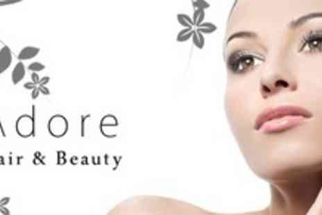 Adore Hair & Beauty - Two Beauty Treatments Such As Mini Facial and Manicure For One - Save 70%