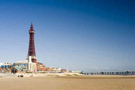 The Brioni - Two night beach front Blackpool stay for two - Save 58%