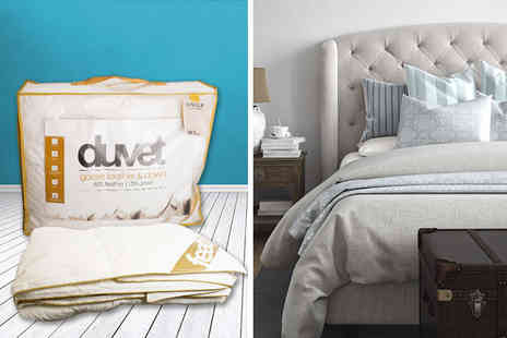 E4Emporium - Single, double, king or super king size luxury goose feather & down duvet quilt 10.5 tog - Save 50%