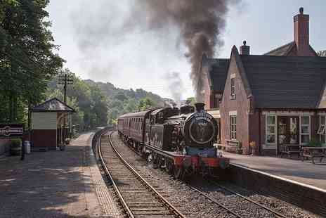 Churnet Valley Railway - Family Ticket with Unlimited Train Rides - Save 43%
