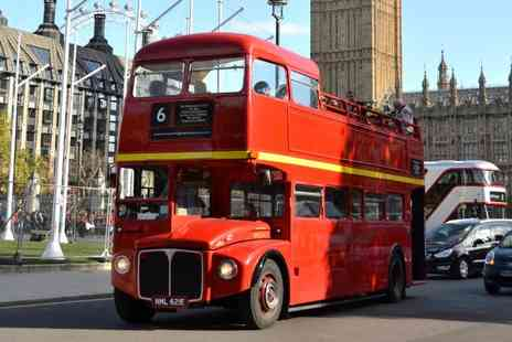 Premium Tours - Ticket to a four hour open top bus tour of London and Thames river cruise - Save 53%