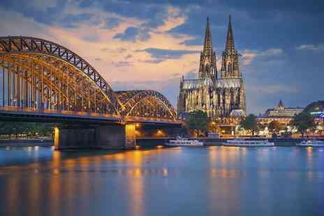 Worldwide Tours & Travel - Two night 4 Star Cologne stay and four night all inclusive Rhine river cruise with flights - Save 51%