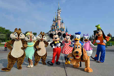 Crystal Travel - Two night Disneyland Paris stay with flights and one day park entry - Save 21%